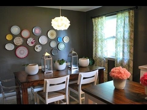 Dining Room Wall Decor~Dining Room Wall Art Ideas – Youtube With 2018 Dining Area Wall Art (View 7 of 15)