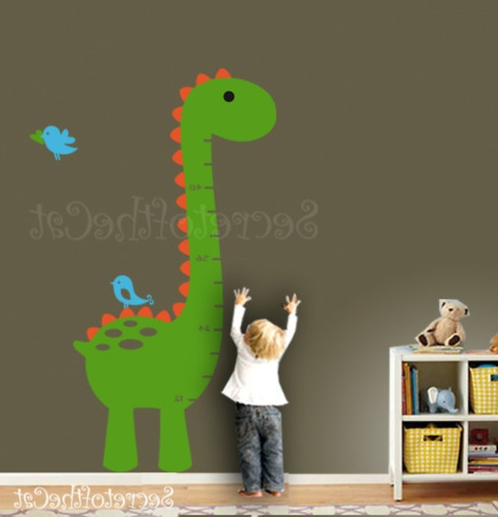 Dinosaur Wall Art For Kids For Favorite  (View 5 of 15)