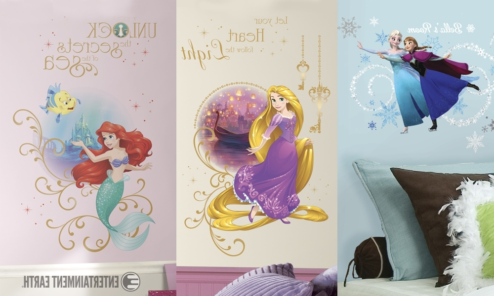 Disney Princess Wall Art Intended For Best And Newest If Your Home Is Your Castle, Then These Princesses Are Ready To Move In (View 6 of 15)