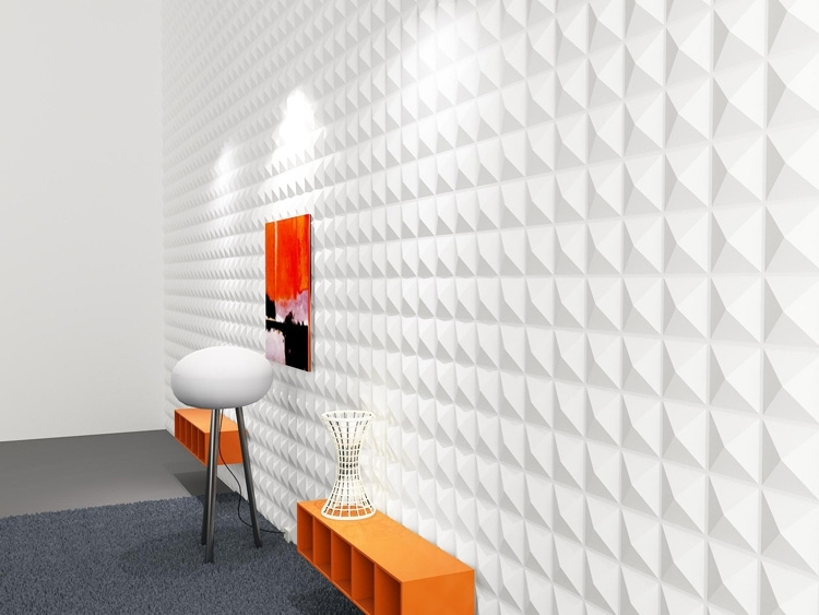 Diy 3D Wall Art Textured Panels Material 1 Box 32 Sq Ft Within Diy Inside Preferred Do It Yourself 3D Wall Art (View 5 of 15)