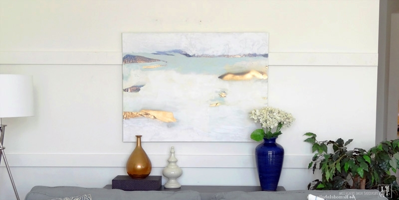 Diy Abstract Wall Art Throughout Most Recent Remodelaholic (View 3 of 15)