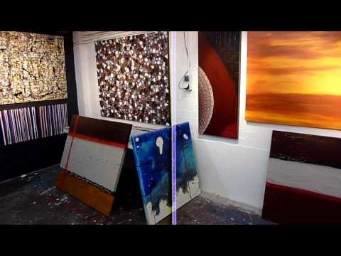Diy Art Lessons  Learn To Paint Abstract ,modern Wall Art – Youtube For Well Known Diy Modern Abstract Wall Art (View 4 of 15)
