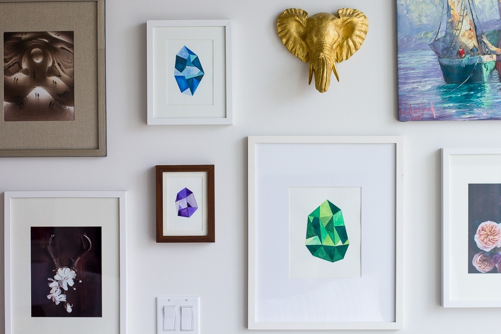 Featured Photo of Gemstone Wall Art