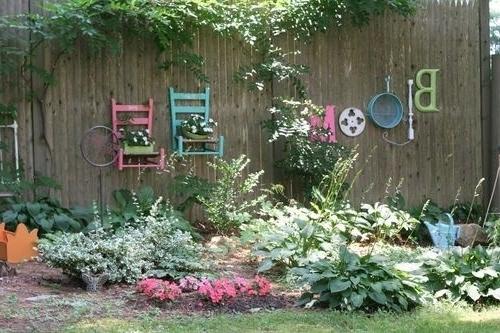 Diy Garden Wall Art Throughout Popular 25 Incredible Diy Garden Fence Wall Art Ideas (View 6 of 15)