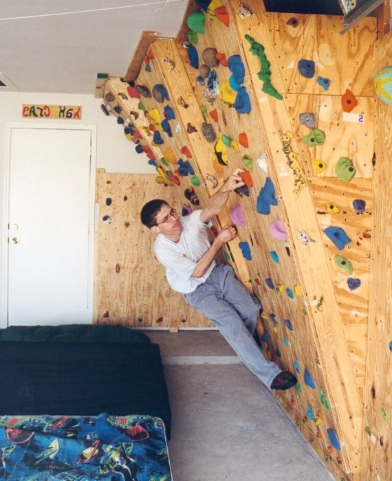 Diy Home Bouldering Wall Amusing Home Climbing Wall Designs – Home With Regard To Best And Newest Home Bouldering Wall Design (View 6 of 15)
