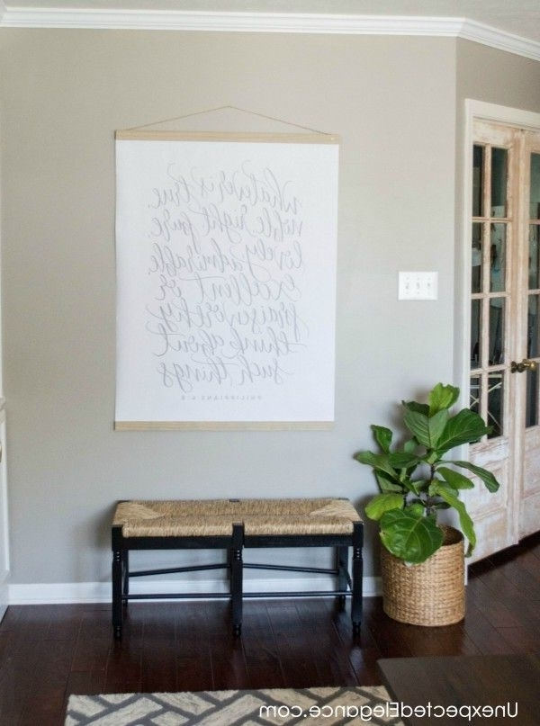 Diy Large Wall Art For Less Than $ (View 5 of 15)