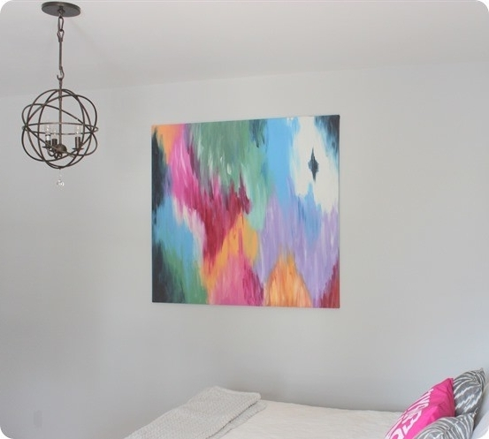 Diy Modern Abstract Wall Art Intended For Current Large Abstract Art Canvas (That Doesn't Break The Bank!) (View 2 of 15)