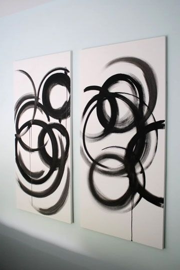 Diy Modern Abstract Wall Art With Best And Newest Diy Modern Art 18 Ways (View 4 of 15)