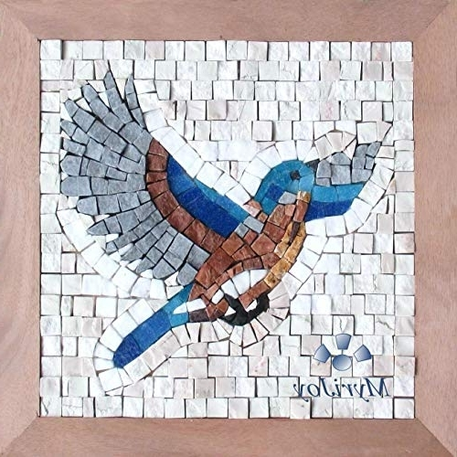Diy Mosaic Craft Kit Take Flight – Diy Gift Ideas – Mosaic Wall Art Within Well Known Mosaic Wall Art Kits (View 3 of 15)