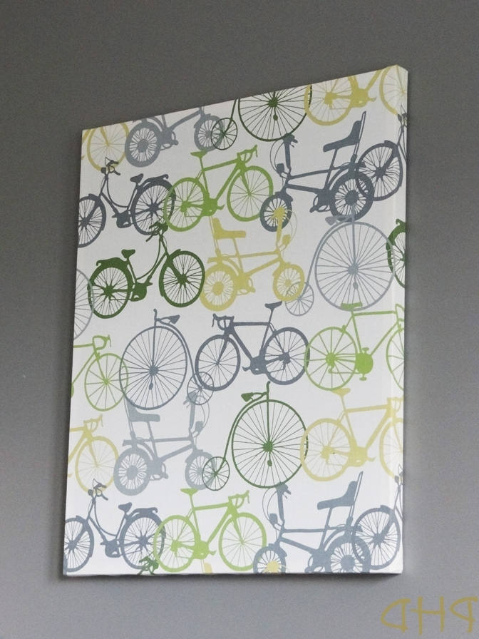 Diy Stretched Fabric Wall Art Inside Preferred Fabric Canvas Wall Art (View 1 of 15)