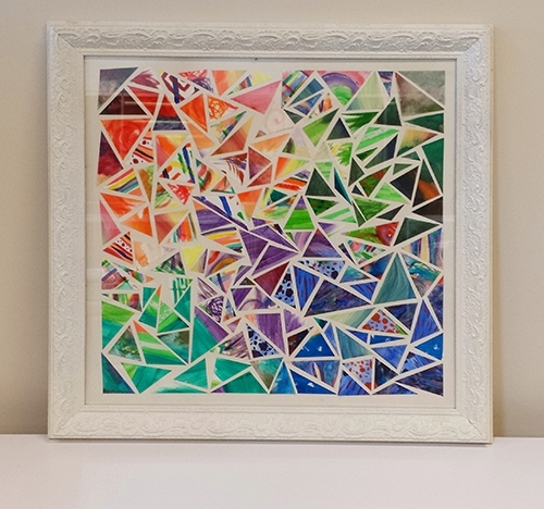 Diy Wall Art – Gohaus With Regard To Latest Kaleidoscope Wall Art (View 3 of 15)