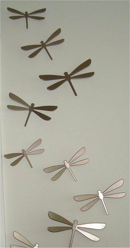 Dragonfly 3D Wall Art Intended For Most Popular Surprising Dragonflies Wall Decor As Well As Amazing Decoration (View 4 of 15)
