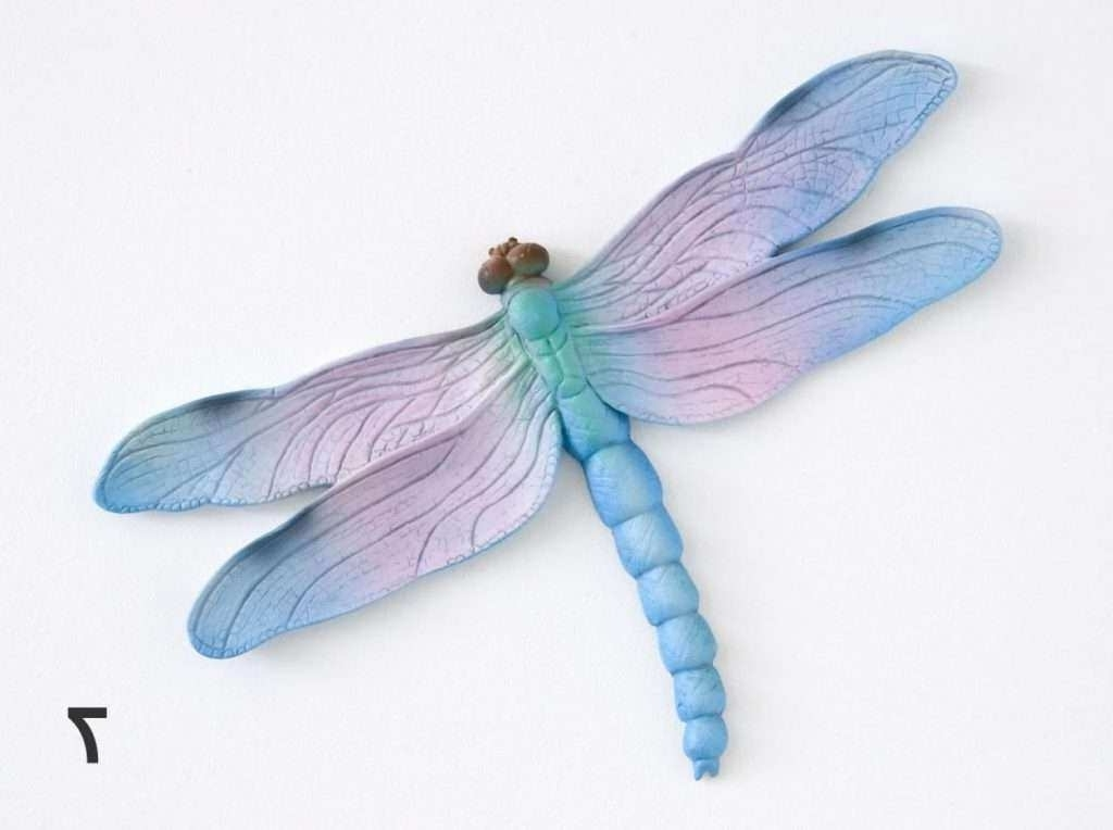 Dragonfly Wall Decor Beautiful 3D Wall Art Dragonfly (View 3 of 15)