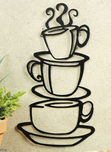 Featured Photo of Coffee Theme Metal Wall Art