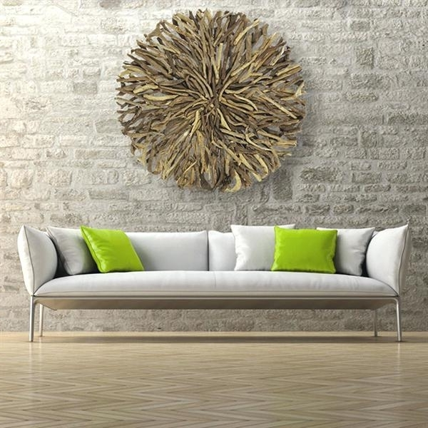 Driftwood Wall Art For Sale With Favorite Large Round Wall Art Large Round Wall Decor Beauteous Wall Art (View 2 of 15)
