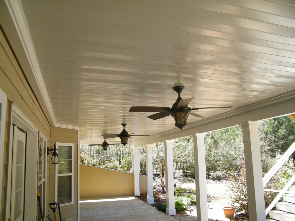 Dry Underdeck Systems — Cornerstone Construction & Renovation, Inc Within Recent Outdoor Ceiling Fan Under Deck (View 3 of 15)