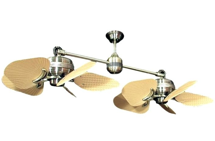 Dual Outdoor Ceiling Fans With Lights With Regard To Well Liked Ceiling Fans Ceiling Fan Dual Head Lovely Oscillating Ceiling Fan (View 3 of 15)