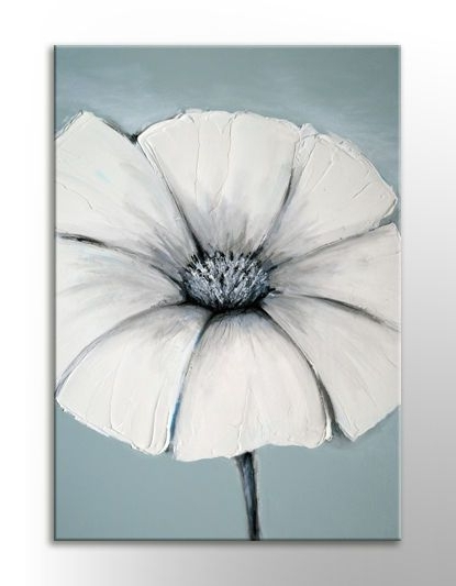 Duck Egg Blue Wall Art With Latest Japanese Painting Wall Art Canvas Print Duck Egg Blue White Grey Zen (View 9 of 15)