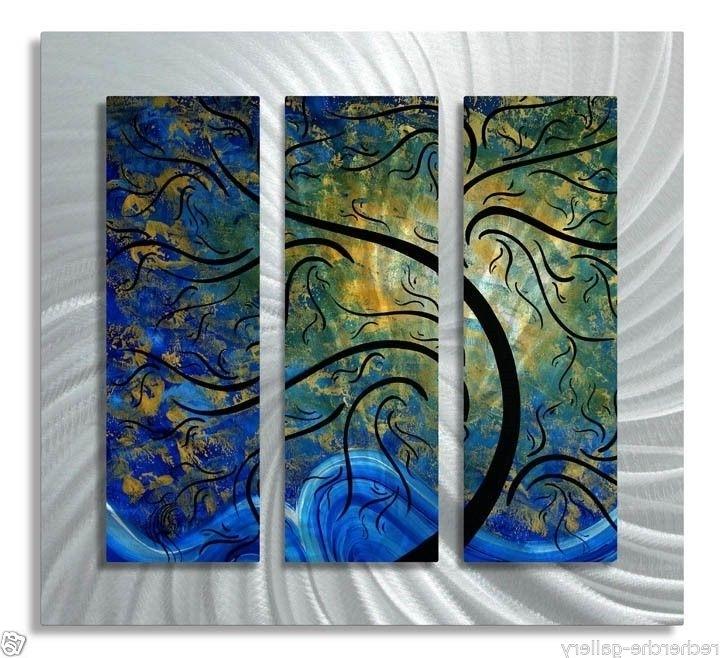 Ebay regarding 2017 Megan Duncanson Metal Wall Art