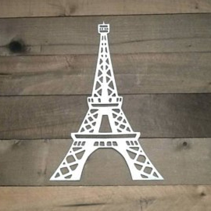 Eiffel Tower Metal Wall Art Regarding Newest 6 Eiffel Tower Metal Wall Art, Eiffel Tower Wall Art 81Cm (Gallery 10 of 15)