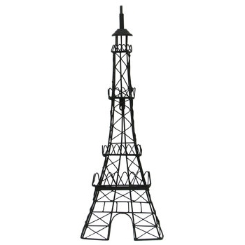 Eiffel Tower Metal Wall Decor (Gallery 4 of 15)
