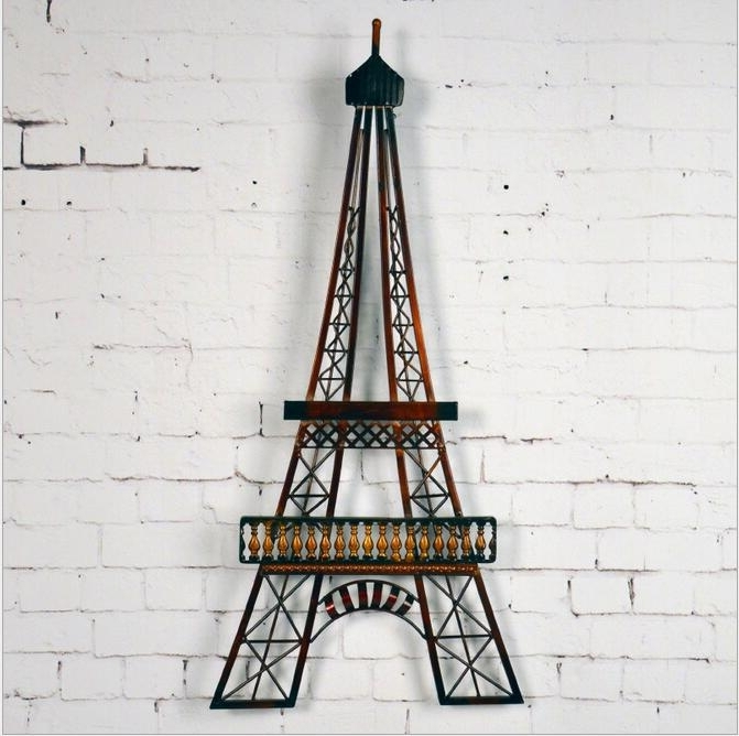 Eiffel Tower Wall Art Roselawnlutheran, Eiffel Tower Wall Art With Most Popular Eiffel Tower Wall Hanging Art (View 4 of 15)