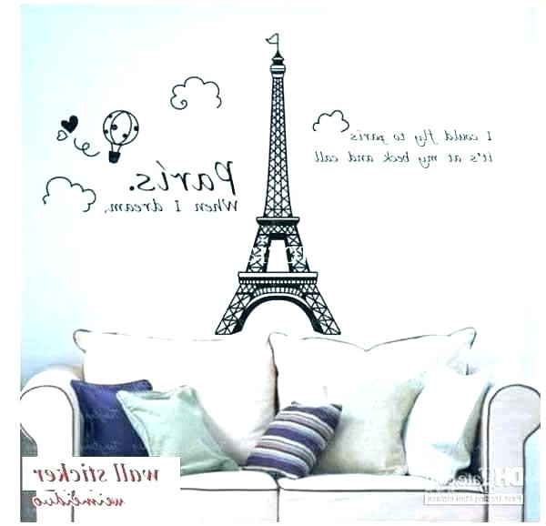 Eiffel Tower Wall Decor Tower Metal Wall Art Tower Wall Decor Tower Regarding Most Recently Released Eiffel Tower Wall Hanging Art (View 13 of 15)