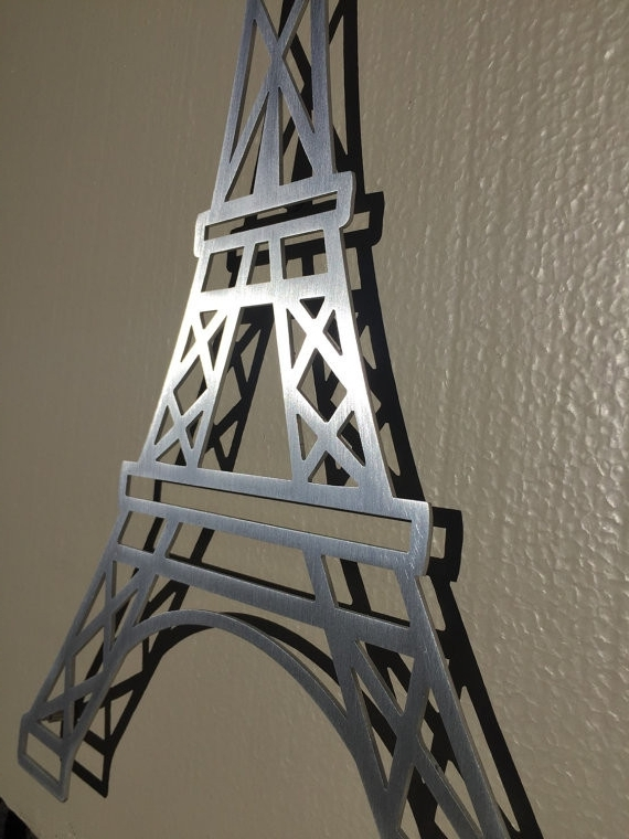Eiffel Tower Wall Hanging Art Intended For Most Up To Date Eiffel Tower Wall Decor Brilliant Art Designs Popular Eiffel Tower (View 2 of 15)