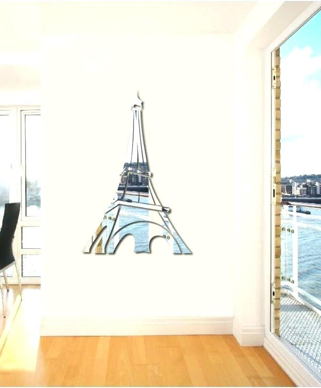 Eiffel Tower Wall Hanging Art Throughout 2018 Eiffel Tower Wall Decor Tower Wall Decor Eiffel Tower Canvas Wall (View 9 of 15)