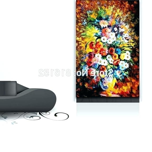 Electronic Wall Art Electronic Wall Art Palette Knife Painting Regarding Well Known Electronic Wall Art (View 3 of 15)