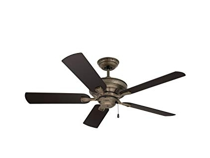 Emerson Ceiling Fans Cf552Vs Veranda 52-Inch Indoor Outdoor Ceiling for Most Popular Wet Rated Emerson Outdoor Ceiling Fans