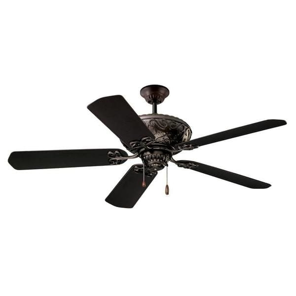 Emerson Devonshire 52-Inch Oil Rubbed Bronze Traditional Indoor regarding 2017 Traditional Outdoor Ceiling Fans