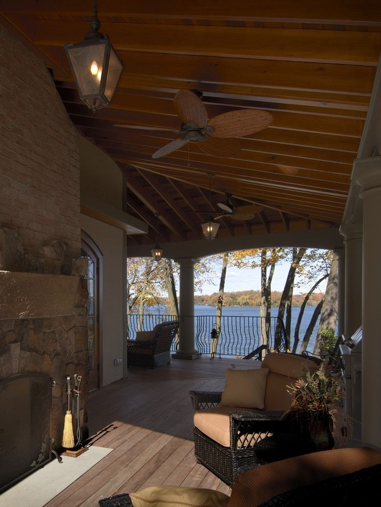 Emerson Outdoor Ceiling Fans Traditional Patio Also Ceiling Fan within 2017 Outdoor Ceiling Fans For Decks