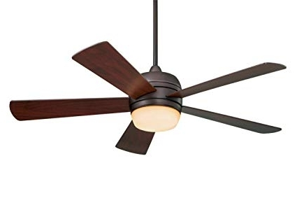 Emerson Outdoor Ceiling Fans With Lights With Favorite Emerson Ceiling Fans Cf930Orb Atomical 52 Inch Modern Indoor Outdoor (Gallery 3 of 15)