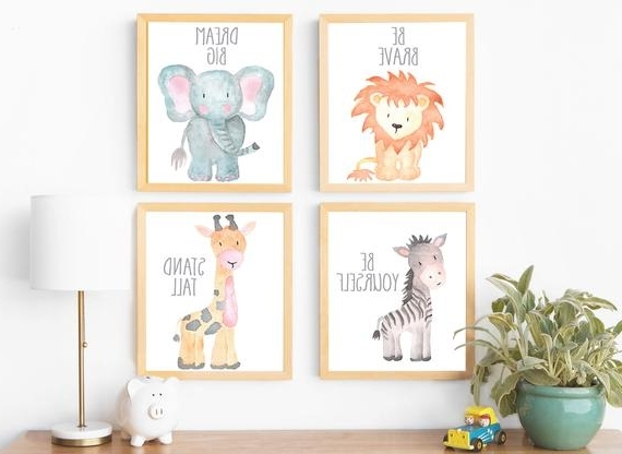 Featured Photo of Etsy Childrens Wall Art