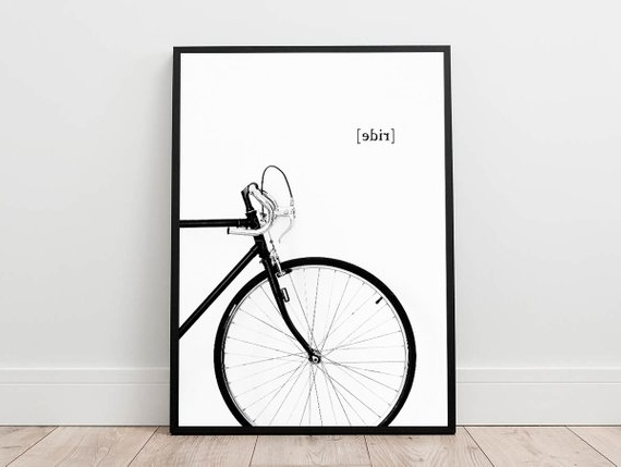 Etsy In Cycling Wall Art (View 6 of 15)