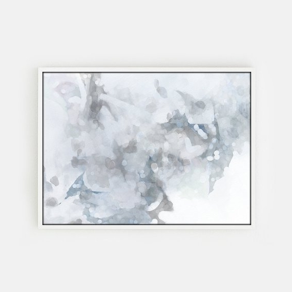 Etsy In Gray Abstract Wall Art (View 6 of 15)
