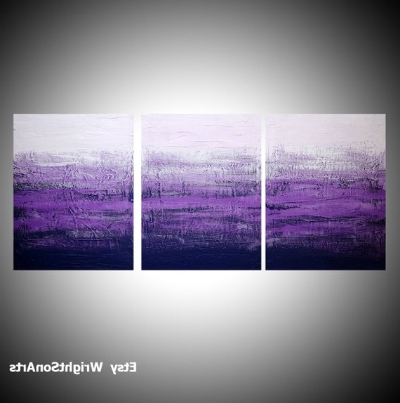 Etsy In Large Triptych Wall Art (Gallery 9 of 15)