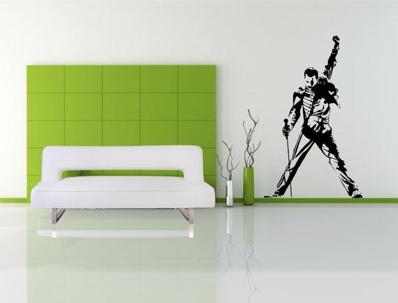 Etsy Inside Famous Freddie Mercury Wall Art (View 4 of 15)