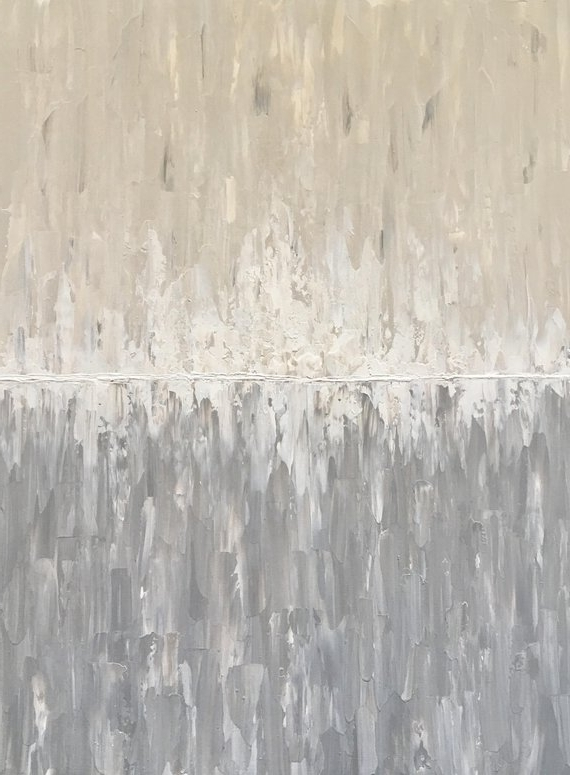 Etsy intended for Neutral Abstract Wall Art