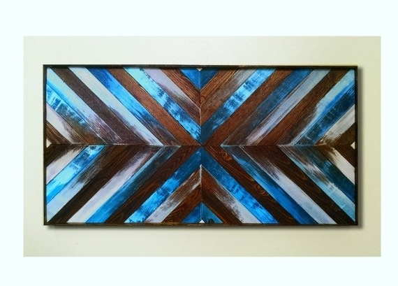 Etsy Pertaining To Best And Newest Dark Wood Wall Art (Gallery 15 of 15)