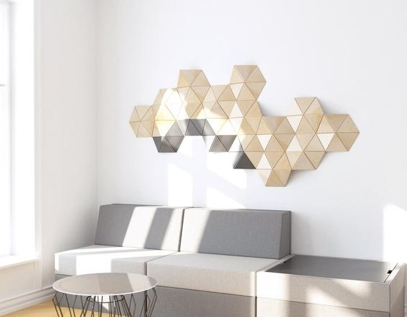 Etsy Pertaining To Recent 3D Wall Art Etsy (Gallery 4 of 15)