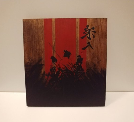 Etsy Regarding Samurai Wall Art (View 5 of 15)