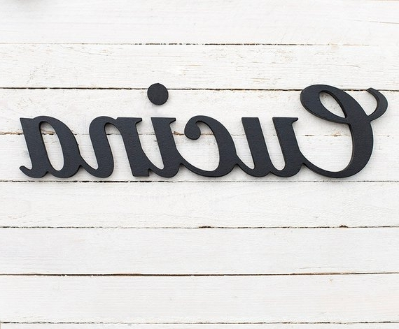 Etsy Throughout Cucina Wall Art (Gallery 12 of 15)