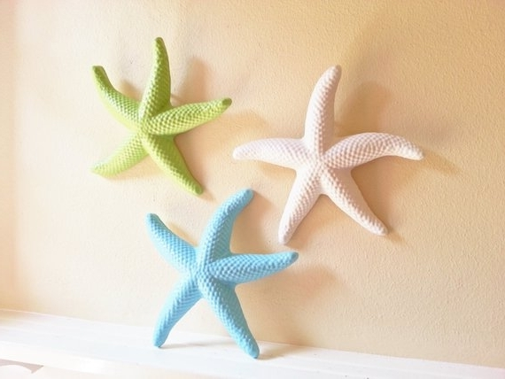 Etsy throughout Most Recently Released Large Starfish Wall Decors