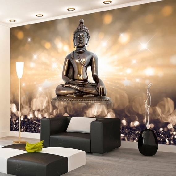 Etsy Throughout Well Known 3D Buddha Wall Art (View 13 of 15)