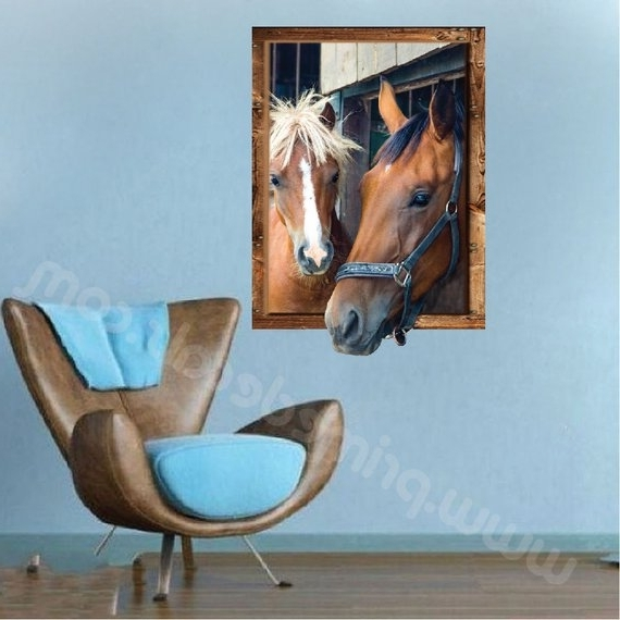 Etsy With 3D Horse Wall Art (Gallery 7 of 15)