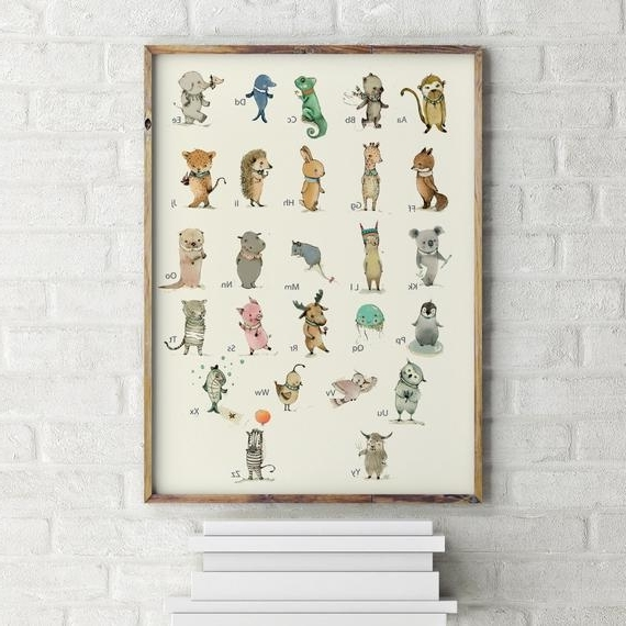 Etsy With Most Popular Etsy Childrens Wall Art (View 4 of 15)
