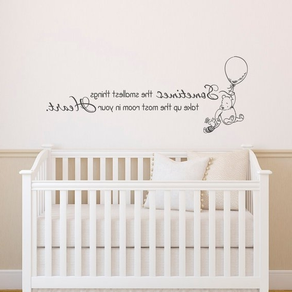 Etsy With Regard To Winnie The Pooh Wall Art For Nursery (Gallery 15 of 15)
