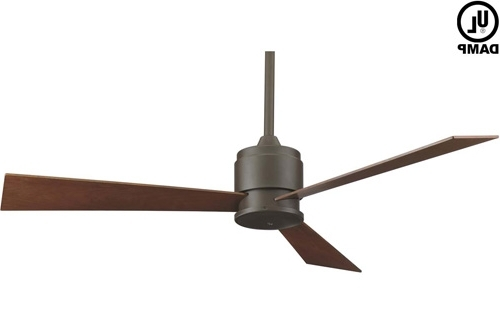 Extraordinary Modern Outdoor Fan Ceiling Y Lighting Maverick 60 Inch In Preferred Modern Outdoor Ceiling Fans (Gallery 8 of 15)